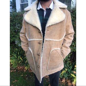 Vintage Wiman Shearling Coat